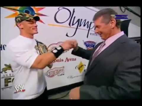 Vince McMahon says the N Word