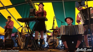 Gary's Polka by Cameron Mack with SqueezeBox (Mollie B & Ted Lange) at the 2019 Bavarian Blast