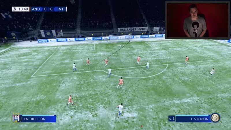 [SerezhaSN] СТЕНКИНУ БЬЮТ ПЕНАЛЬТИ В МАТЧЕ - FIFA 19 КАРЬЕРА ЗА ВРАТАРЯ 55