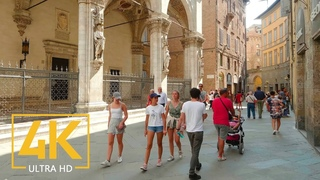 Virtual Walking Tour in 4K 60fps - Cities of Tuscany - Trip to Italy - Top Italian Destinations