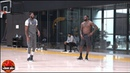 LeBron James Anthony Davis Return To Lakers Practice For Social Distance Workout. HoopJab NBA