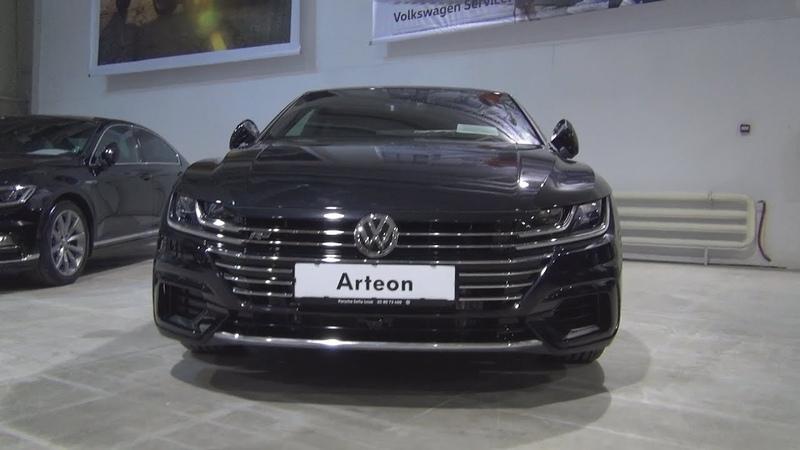 Volkswagen Arteon R Line 2 0 TDI 4MOTION 7 DSG 2019 Exterior and Interior