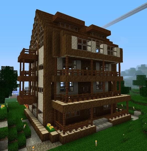 как построить красивый дом а майнкрафте #6