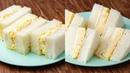 たまご好きに捧ぐ!最高のたまごサンド2選〜飽きない美味しさ♪〜 Egg Sandwich
