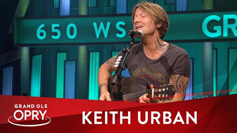 Keith Urban God Whispered Your Name Live at the Grand Ole Opry