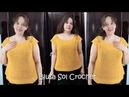 Blusa Sol Crochet