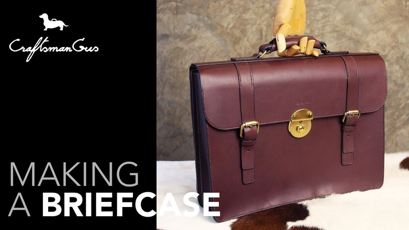 Triple Deck Briefcase LeatherAddict EP47