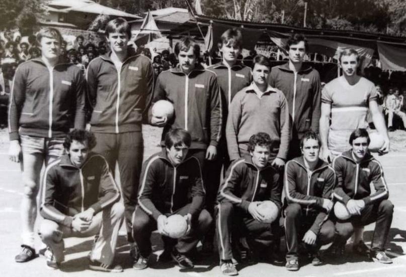Сборная РСФСР-1983 на турнире в Эфиопии
