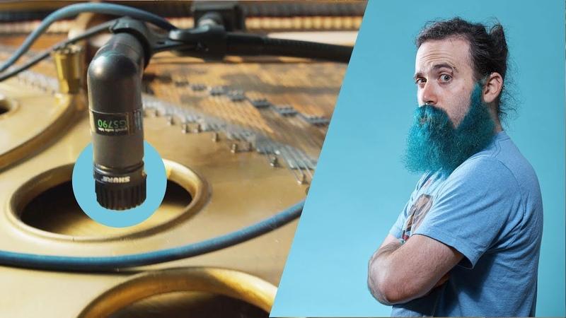 Hooking up a $100K Grand Piano to massive hi gain guitar amps