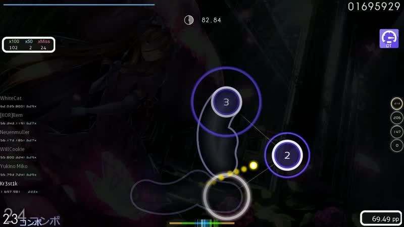 Kr3st1k MISATO Necro Fantasia Lasse's Lunatic DT 233x