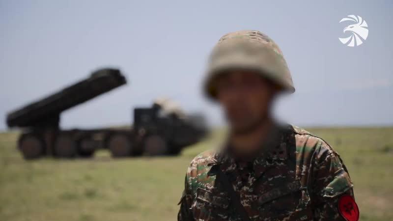 Крупномасштабного тактического учения на полигоне Баграмян
