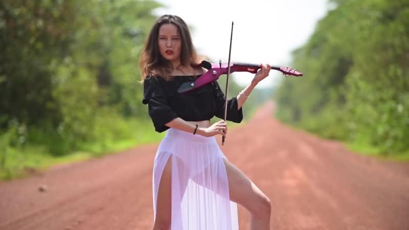 Rockabye Clean Bandit ft. Sean Paul Anne Marie Electric Violin Cover Caitlin De Ville