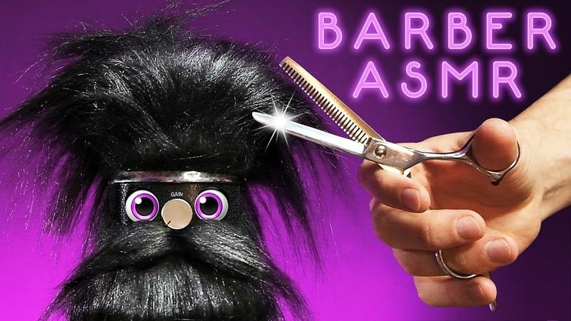 ASMR Barbershop Tingles for Sleep Snip Spritz Swoosh