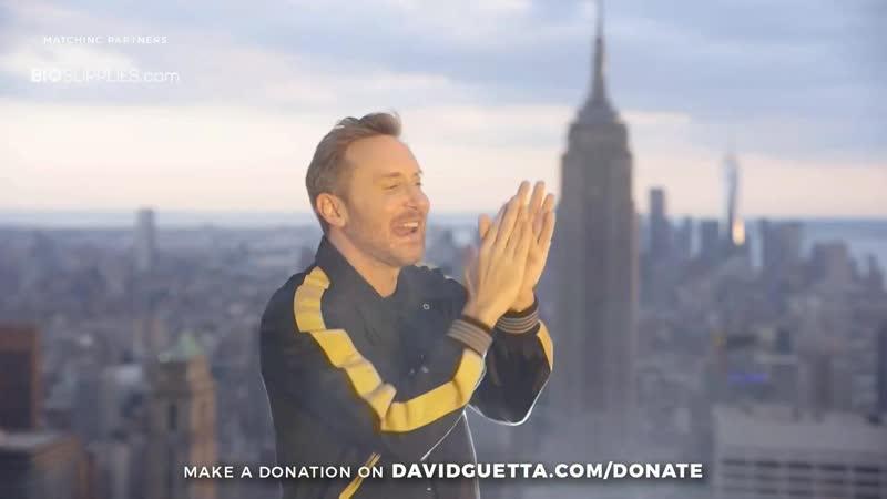 David Guetta карантиновый сет на небоскрёбе! В New York! (во время пандемии)