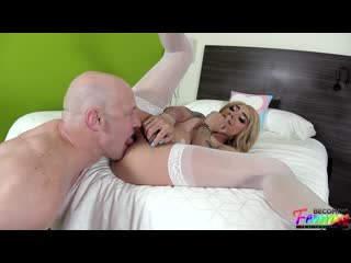 Audrey Maffia - Stunning Mexican Sissy Gets Loved Up And Banged [ г., Shemale, Anal, Bareback]