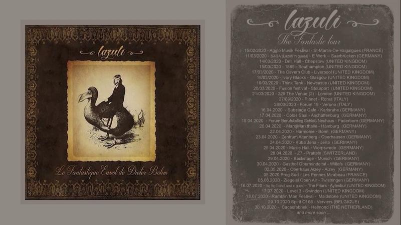 Lazuli Le Fantastique Envol De Dieter Bohm Prog Rock Full Album 2020