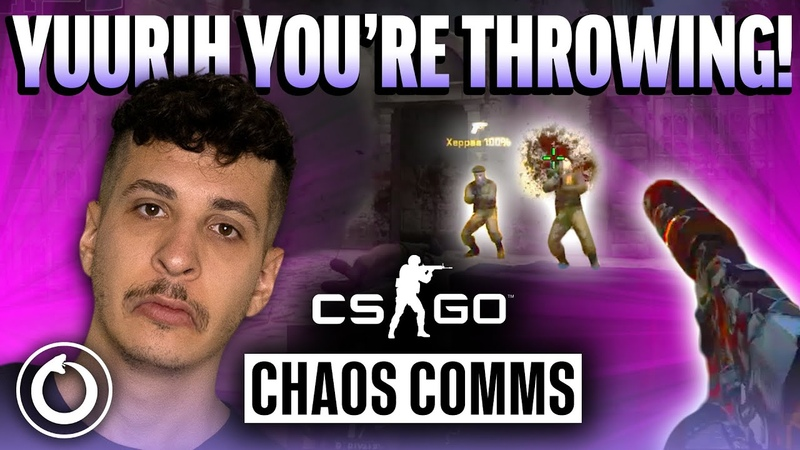 How we lost to FURIA Chaos CS GO Comms