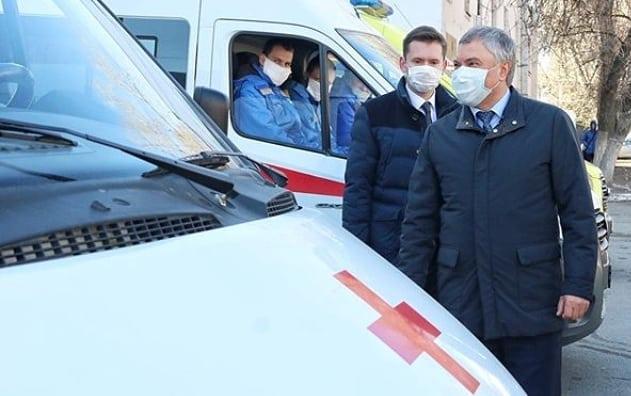Председатель Государственной Думы Вячеслав ВОЛОДИН сообщил, что в ближайшее время в Саратов будет поставлено 25 машин скорой помощи категории «С» и более 20 - категории «В»