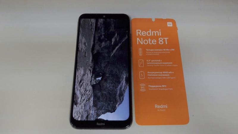 Unboxing Antutu Benchmark Redmi Note 8T