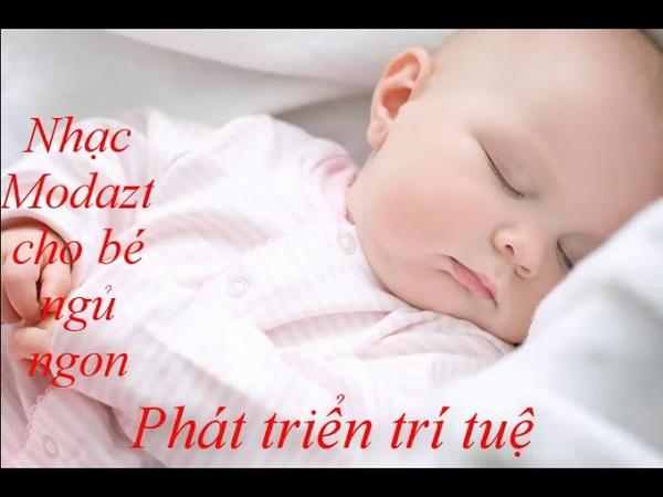 Nhạc Mozart cho bé ngủ ngon, phát triển trí tuệ