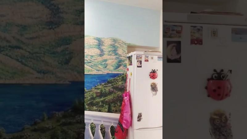 Фреска маслом Настенная живопись