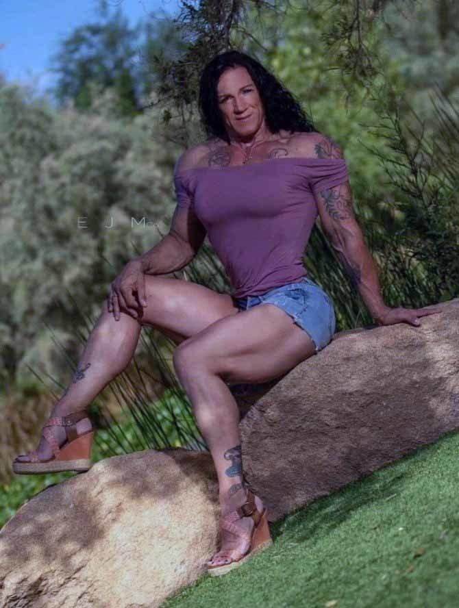 Мощная женщина