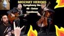 Mozart - Metallica (Symphony No. 40 - Enter Sandman : MOZART HEROES OFFICIAL VIDEO | Reaction