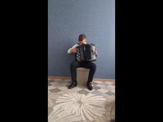 И. А. Шатров  Вальс На сопках Маньчжурии, исполняет Климов Данил, 6 в класс