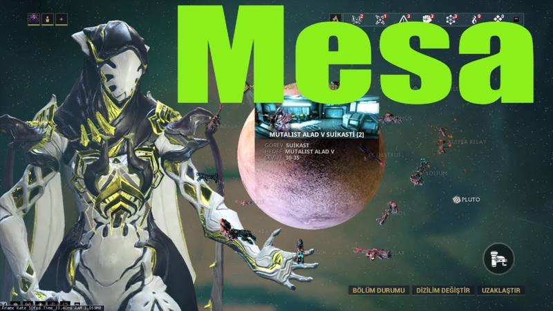 Mesa Warframe Build MUTALIST ALAD V Boss