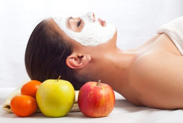 Молодильные маски из яблок