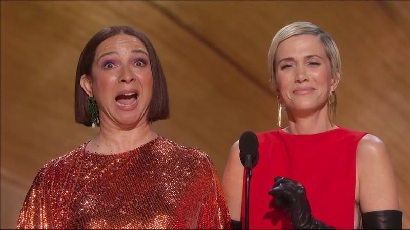 Kristen Wiig and Maya Rudolph acting show off 92nd OSCARS Academy Awards 1080p