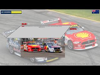 Virgin Australia Supercars Championship: NTI Townsville SuperSprint, Гонка 3,  [A21 Network]