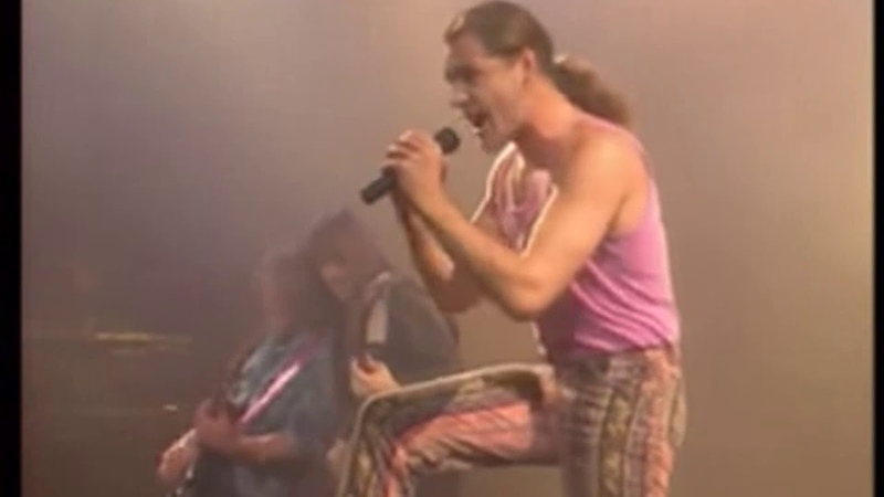 Gamma Ray Heading For The East Scheepers on Vocals Uli Kusch on Drums Live in Japan 1990 HD