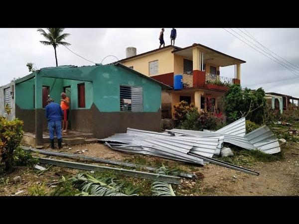 Después de una sequía de récord llegan las inundaciones golpean a Cuba