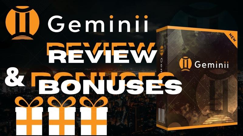 Geminii Review Plus Insane Bonus Bundle 🔥 Don't Get Geminii Without My Incredible Bonus Bundle 🔥