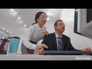 Aaliyah Hadid - Secretary Side Job [All Sex, Hardcore, Blowjob, Anal]