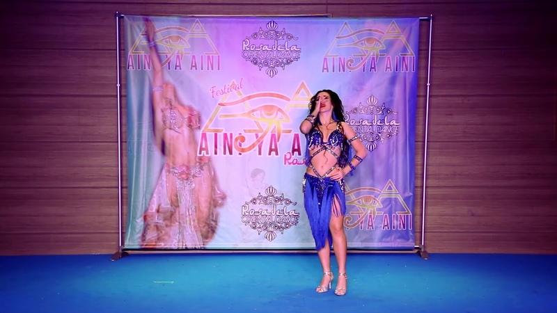 Анна Чепец Anna Chepets Gala Opening AINI YA AINI 2020 Tabla solo Mohamed Ramadan BUM BUM