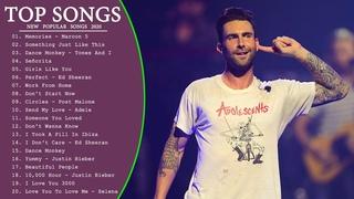 Maroon 5, Adele, Taylor Swift, Ed Sheeran, Shawn Mendes, Sam Smith, Charlie Puth