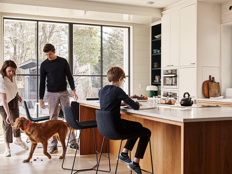 Великолепный дом для одной счастливой семьи в Нью-Джерси