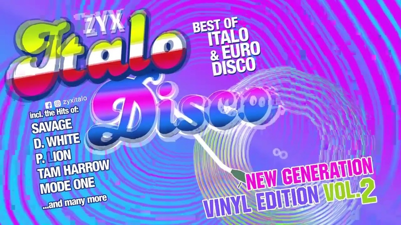 ZYX Italo Disco New Generation Vinyl Edition vol.2 (Savage, Tam Harrow, Mode One, D.White and more)