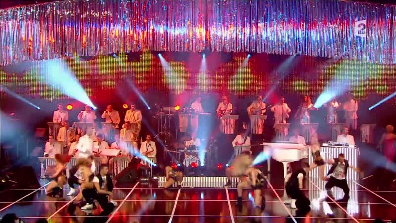 Amii Stewart - Knock On Wood. In tv Show Les Annees Bonheur At 2014 By French Television Inc. Ltd. Video Edit.