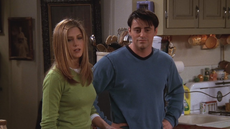 Friends Chandler going to Yemen and light switch Part 1