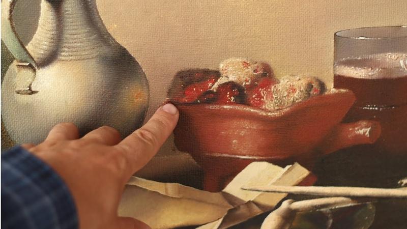Как я рисовал натюрморт Трубки и жаровня Питер Клас