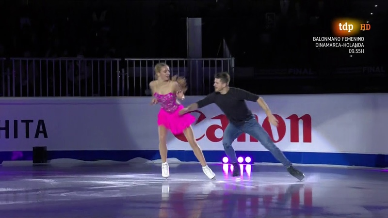 Stepanova Bukin 2019 Grand Prix Final Gala