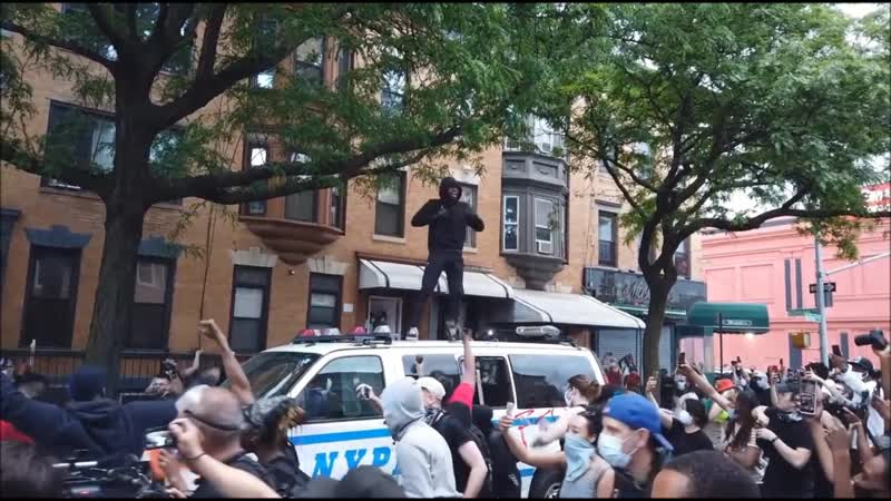 Samsebeskazal Denis Беспорядки в Нью Йорке фрагмент видео