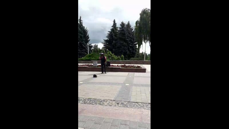 Выступление Карлоса в Пинскещ