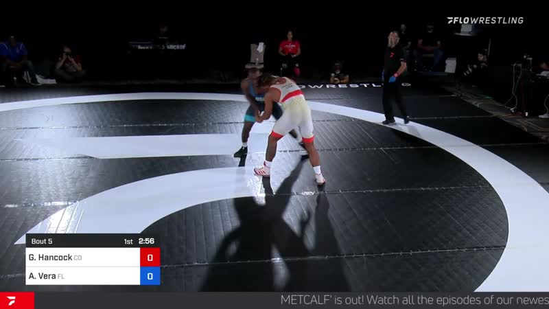 103kg G'angelo Hancock vs Alan Vera bjf wrestling