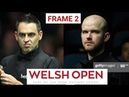 Ronnie OSullivan vs Roby Williams - Snooker welsh open 2021