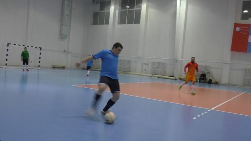 ФК «Друзья-2» - ФК «Прометей»- 1 тайм