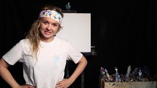 Episode 2 - Neon Octopus - How to Video Iris Scott - Finger Painting